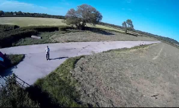 Пример съёмки HUBSAN SPY HAWK H301S
