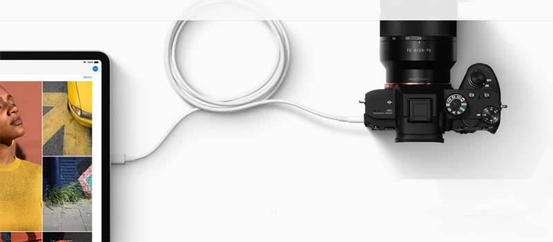 Подключение камеры к iPad pro 2018
