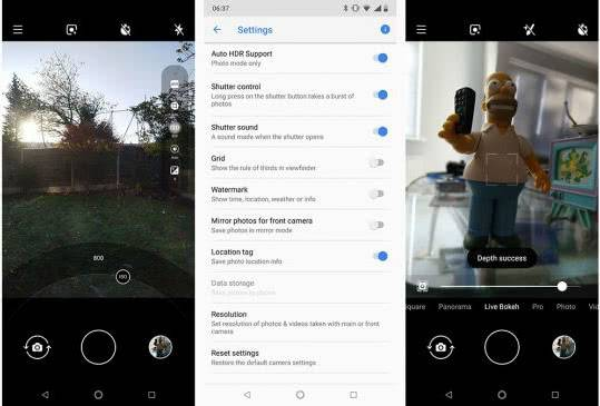 Nokia 7.1 пример фото