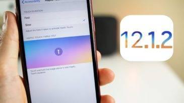 Apple выпустила iOS 12.1.2