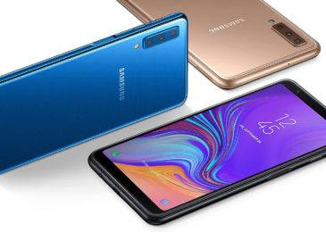 Обзор смартфона Samsung Galaxy A7 (2018)