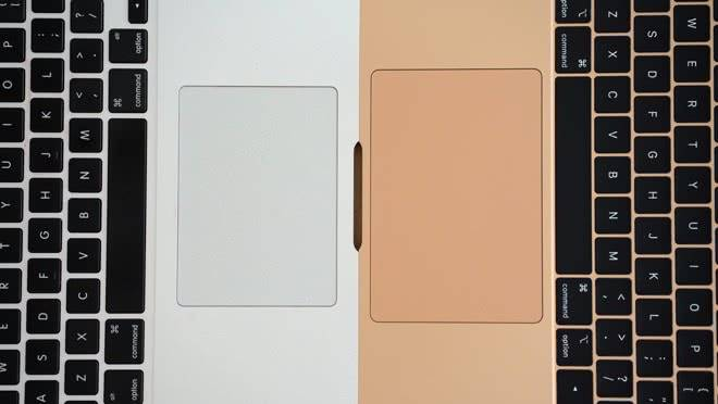 MacBook Air 2018 Trackpad