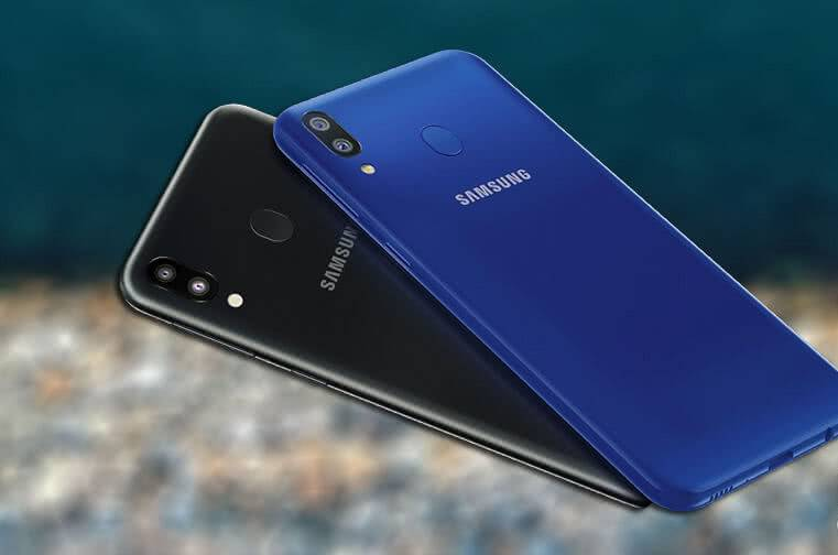 Задняя сторона Samsung Galaxy M20