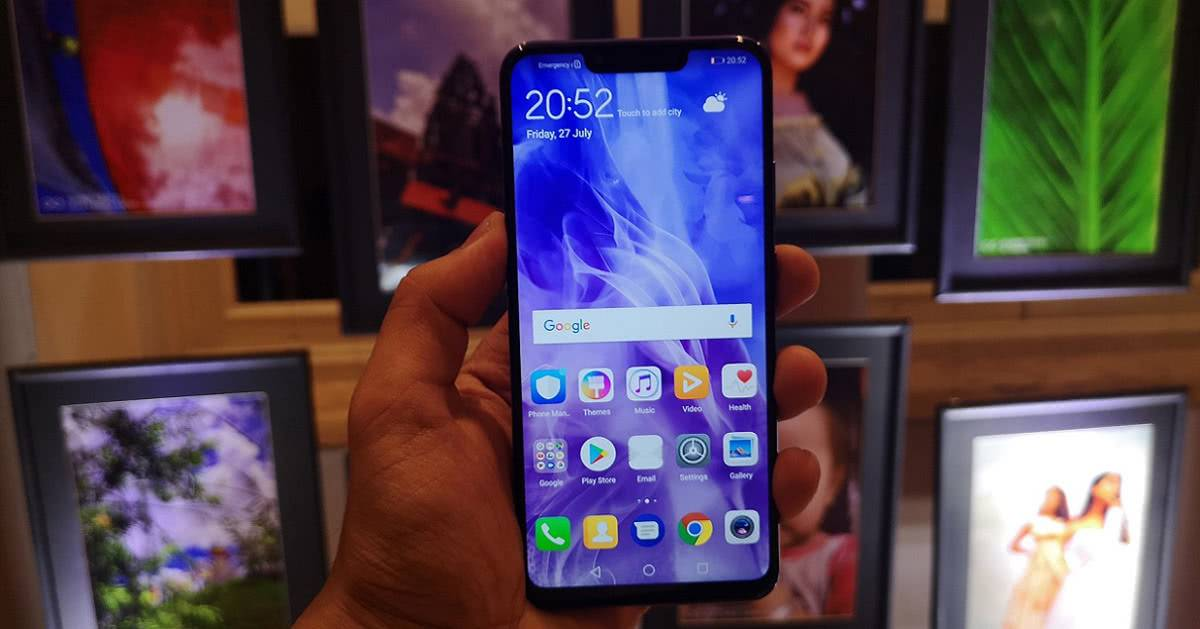 Дисплей Full HD+ Huawei Nova 3i