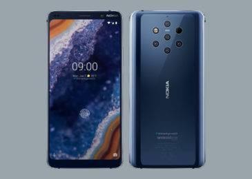 Первый взгляд на смартфон Nokia 9 PureView