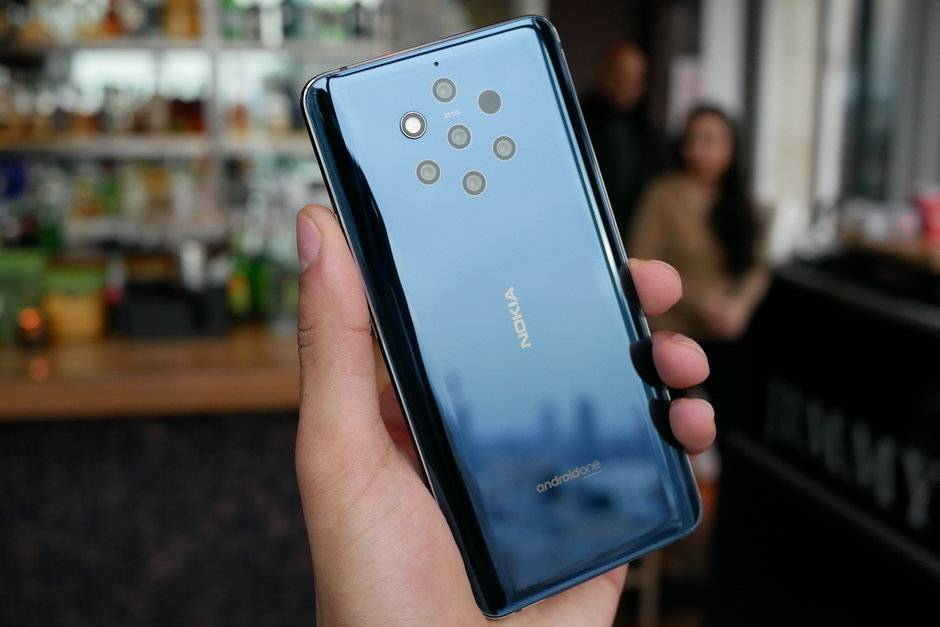 5 камер Nokia 9 PureView