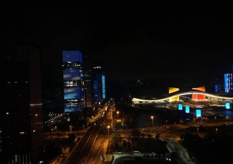 Пример ночной съёмки Huawei Nova i3