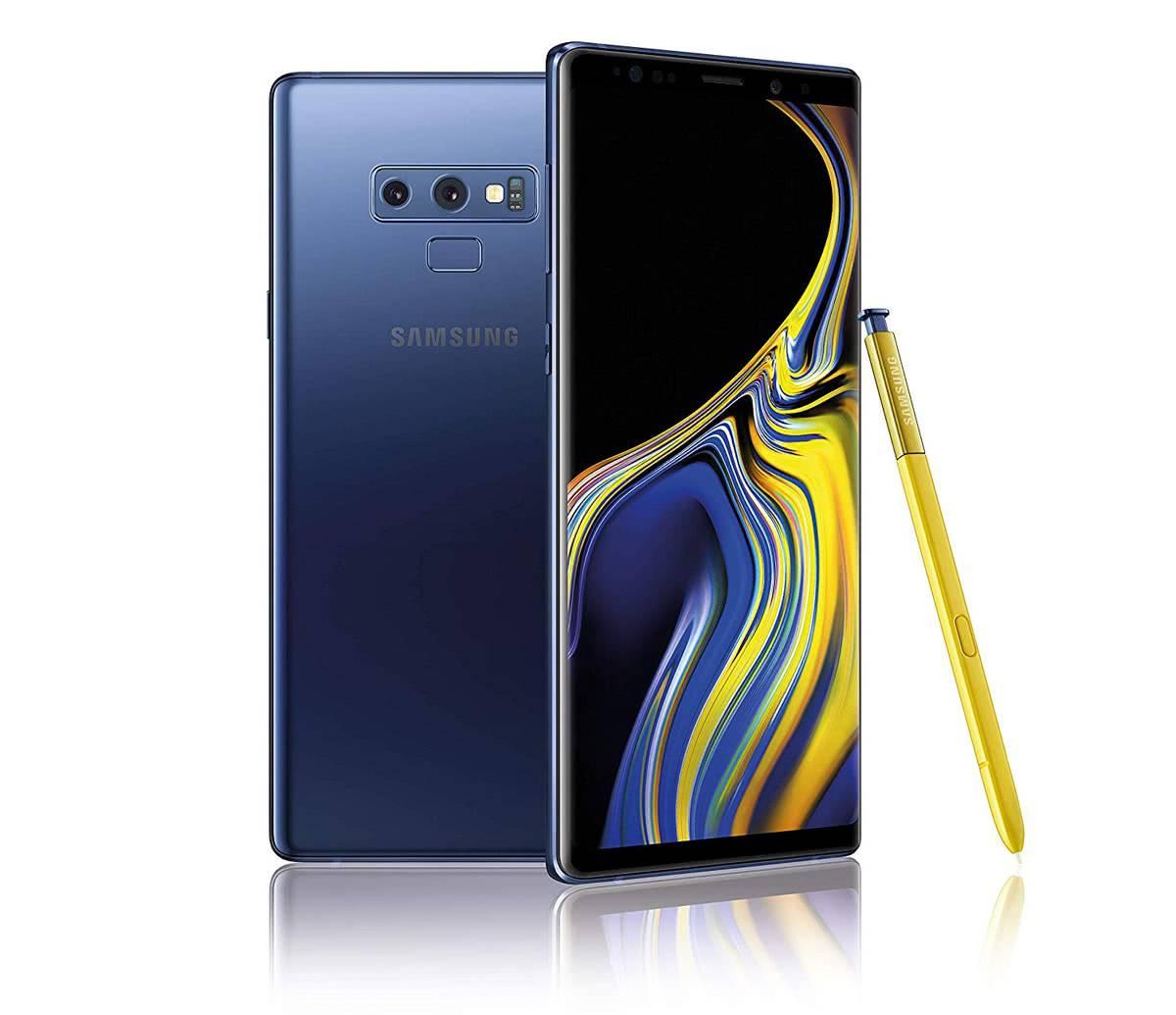 Samsung Galaxy Note 9 фото