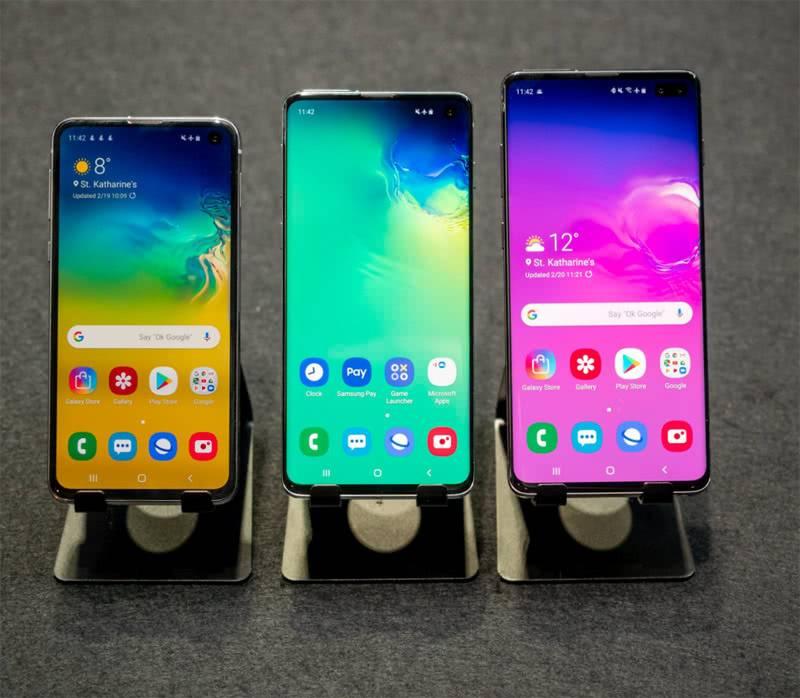 Galaxy S10, S10+ и S10e