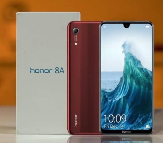Honor 8A распаковка