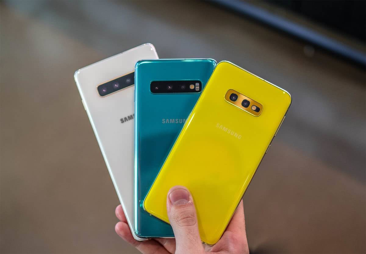 Samsung Galaxy S10, S10+ и S10e