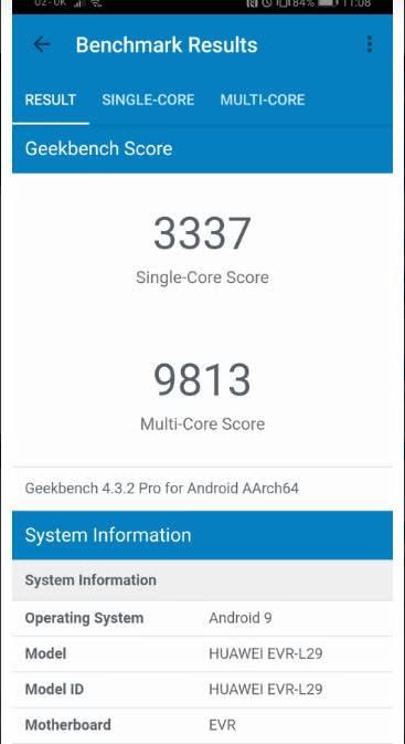 Huawei Mate 20 X тест Benchmark