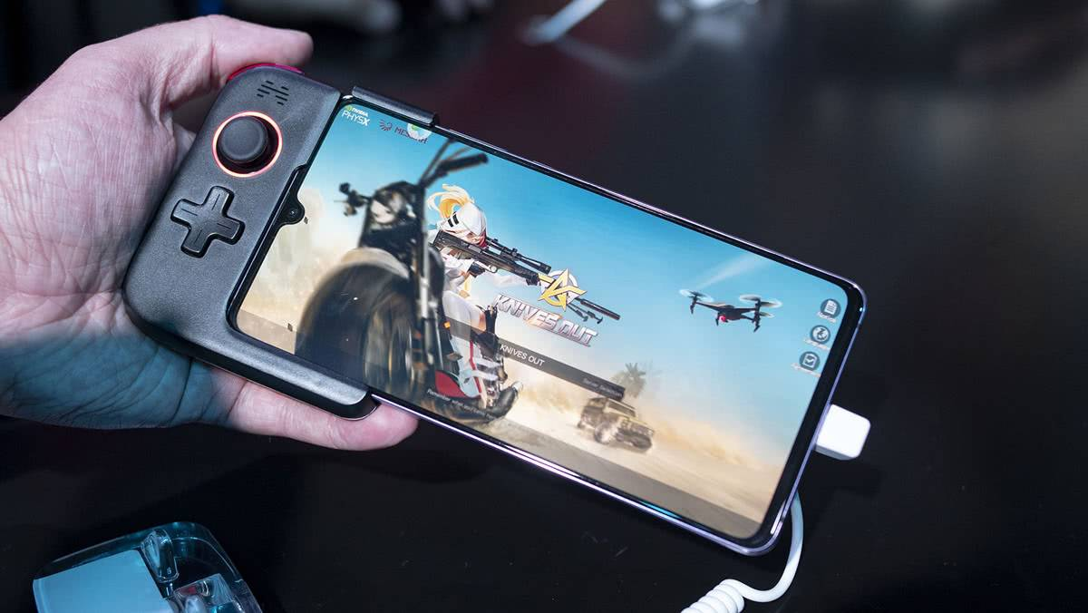 Съёмный контроллер для игр Huawei Mate 20 X