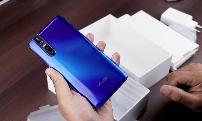 Материал смартфона Vivo V15 Pro