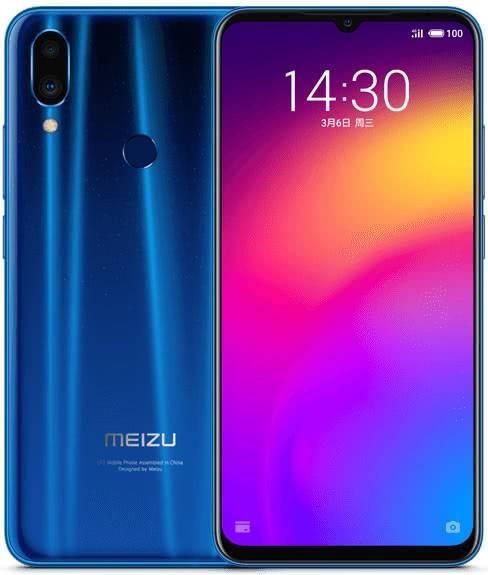 Дизайн Meizu Note 9