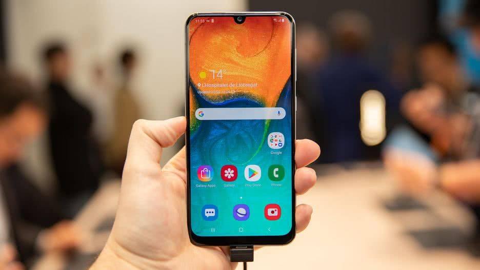 Экран Samsung Galaxy A30