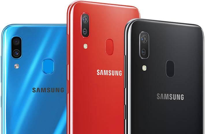 Задняя крышка Samsung Galaxy A30