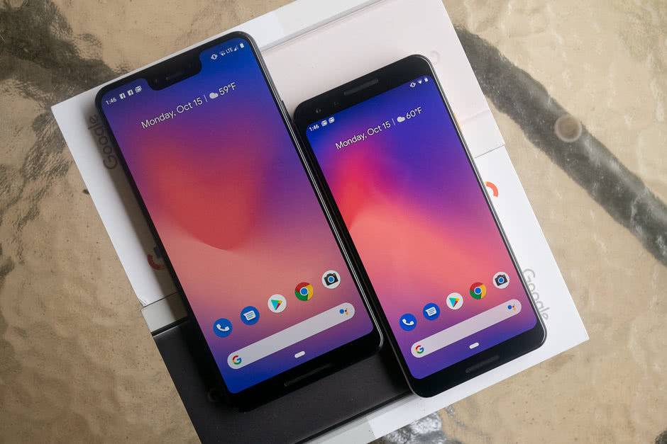 Камерофоны Google Pixel 3 и Pixel 3 XL