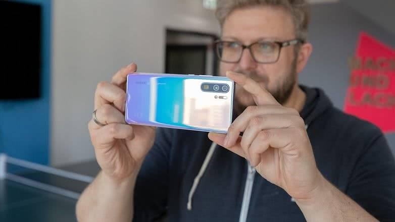Съемка камерой Huawei P30 Pro