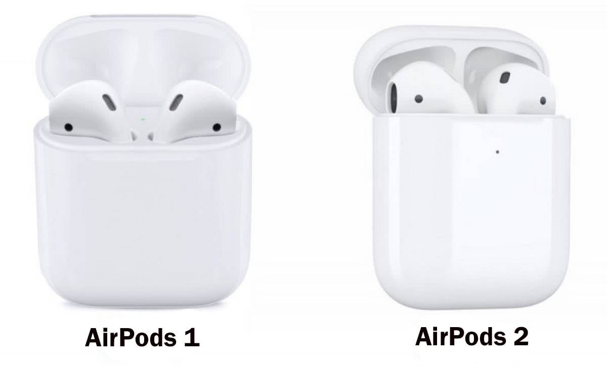 Отличие Apple AirPods от Apple AirPods 2