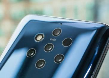 Nokia 9 PureView: флагман с пятью задними камерами