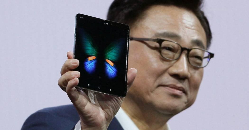 Samsung Galaxy Fold — смартфон с гибким экраном
