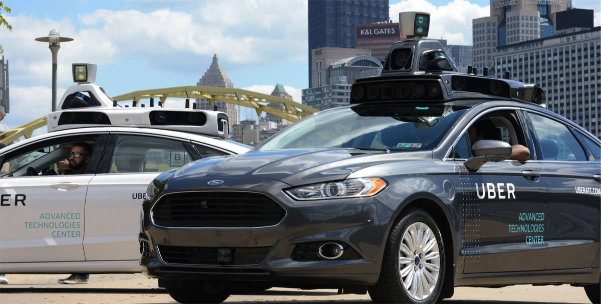 Беспилотное авто Uber