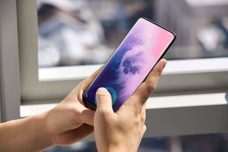 Сканер отпечатков пальцев OnePlus 7 Pro