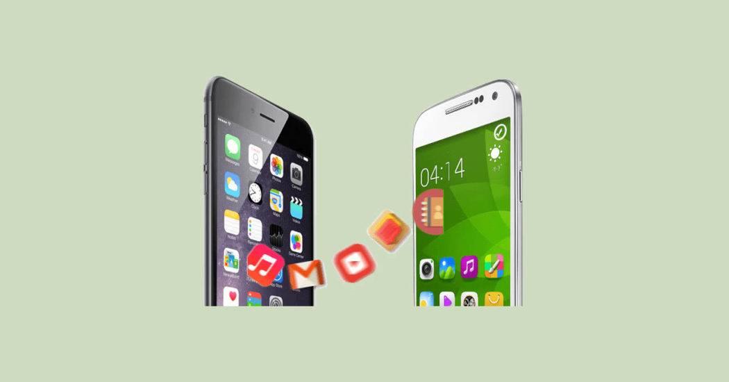 Как перенести данные с телефона на телефон