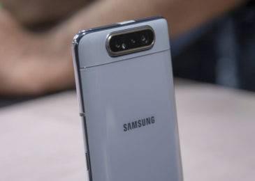 Samsung Galaxy A80 — эффектный смартфон с поворотной камерой