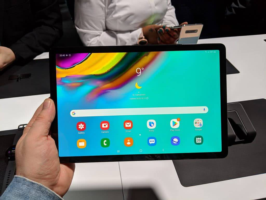 Экран Samsung Galaxy Tab S5e