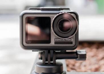 DJI Osmo Action — первая экшен-камера DJI