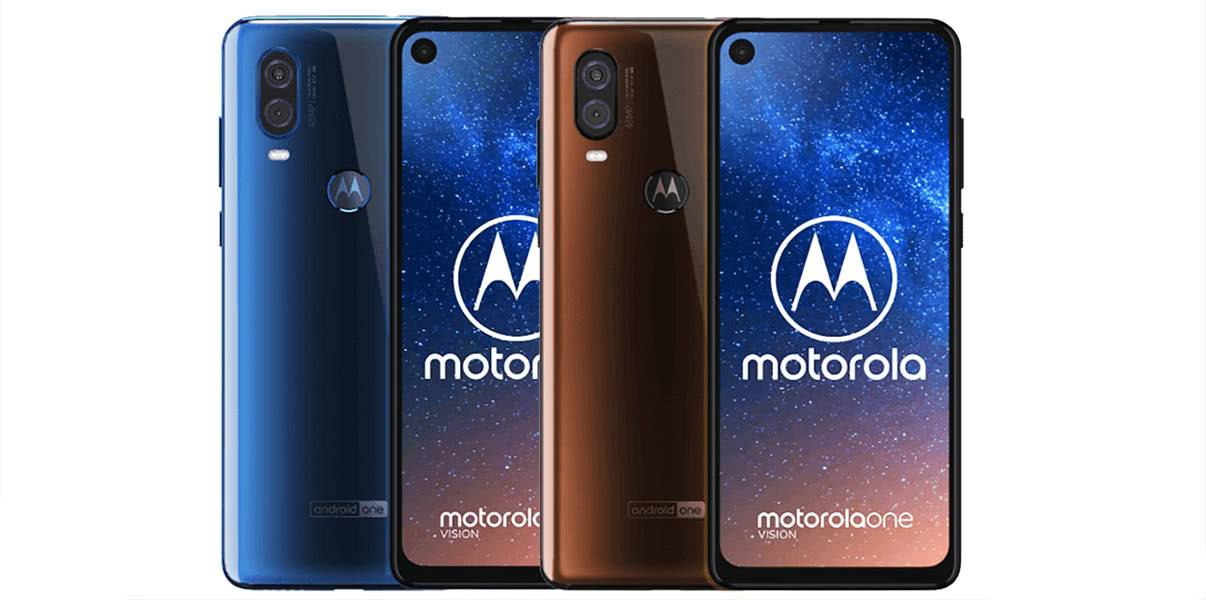Motorola One Vision фото