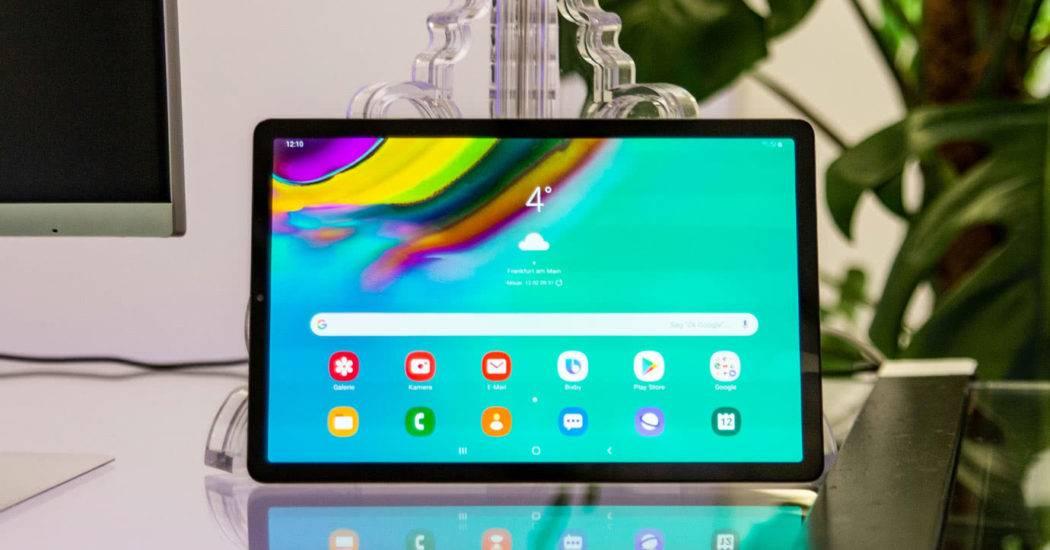 Обзор планшета Samsung Galaxy Tab S5e 10.5