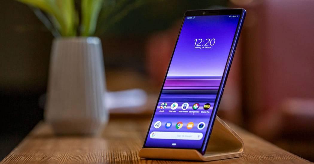Sony Xperia 1 — смартфон с кинематографическим экраном
