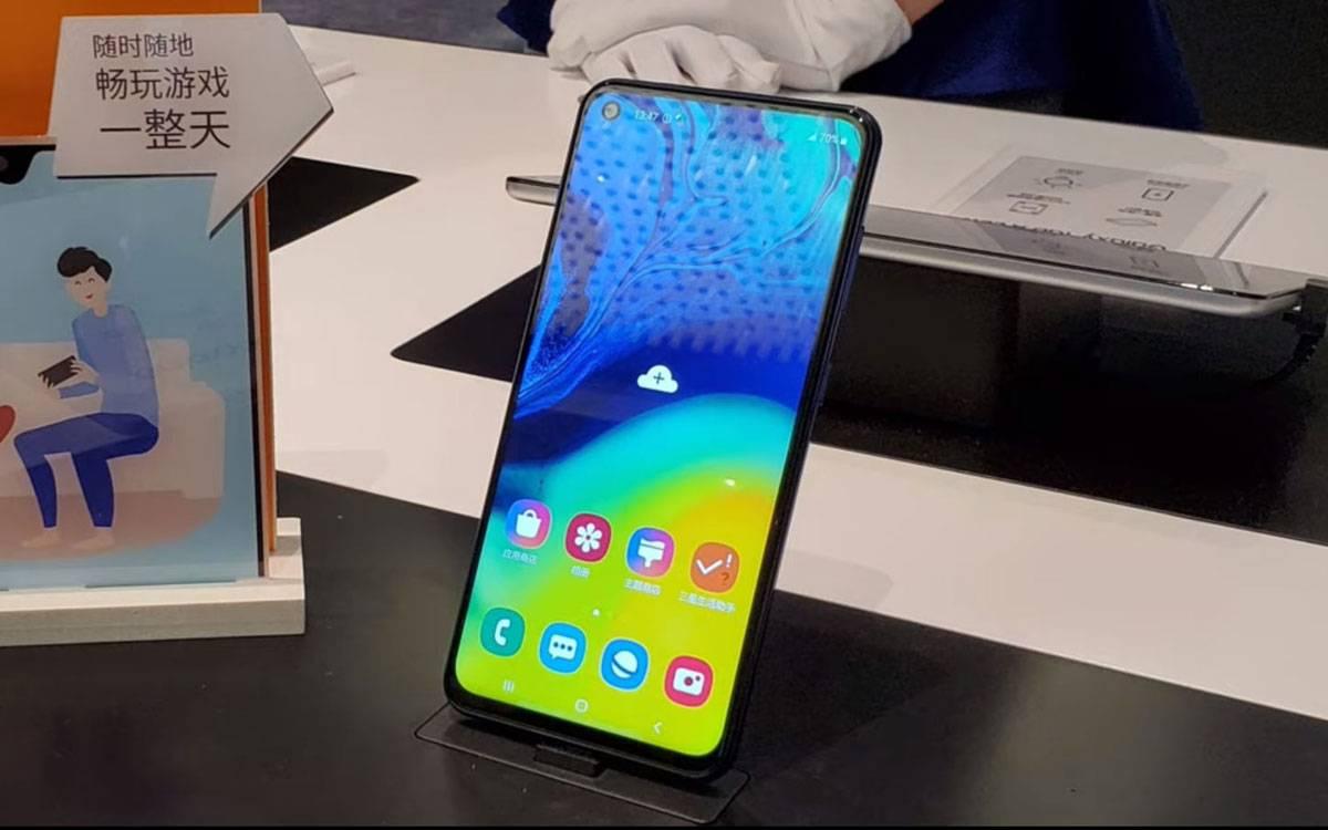 Экран Galaxy A60