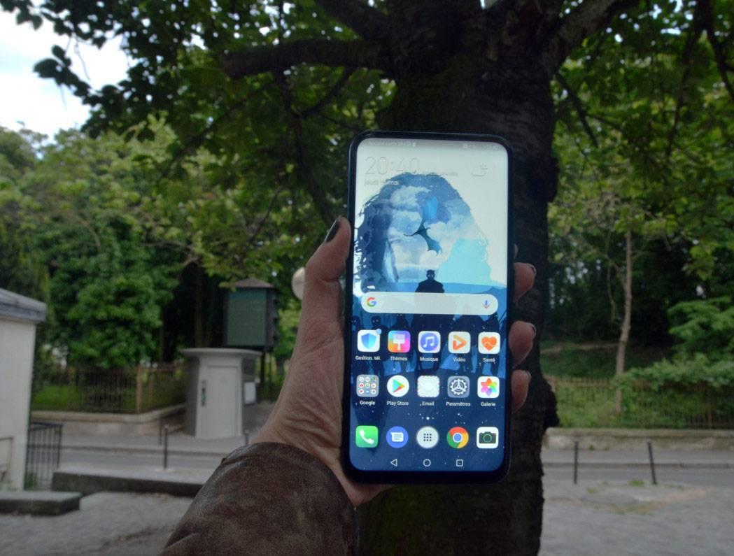 Экран Huawei P Smart Z