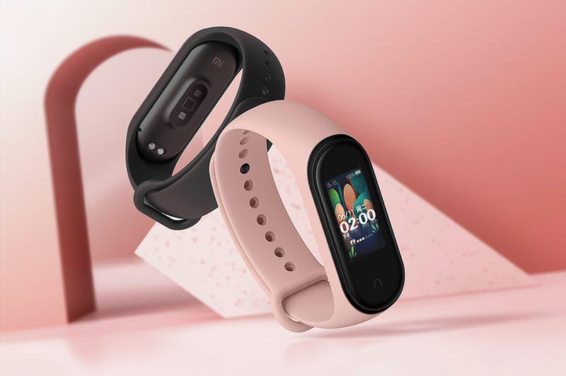 Дизайн Xiaomi Mi Band 4