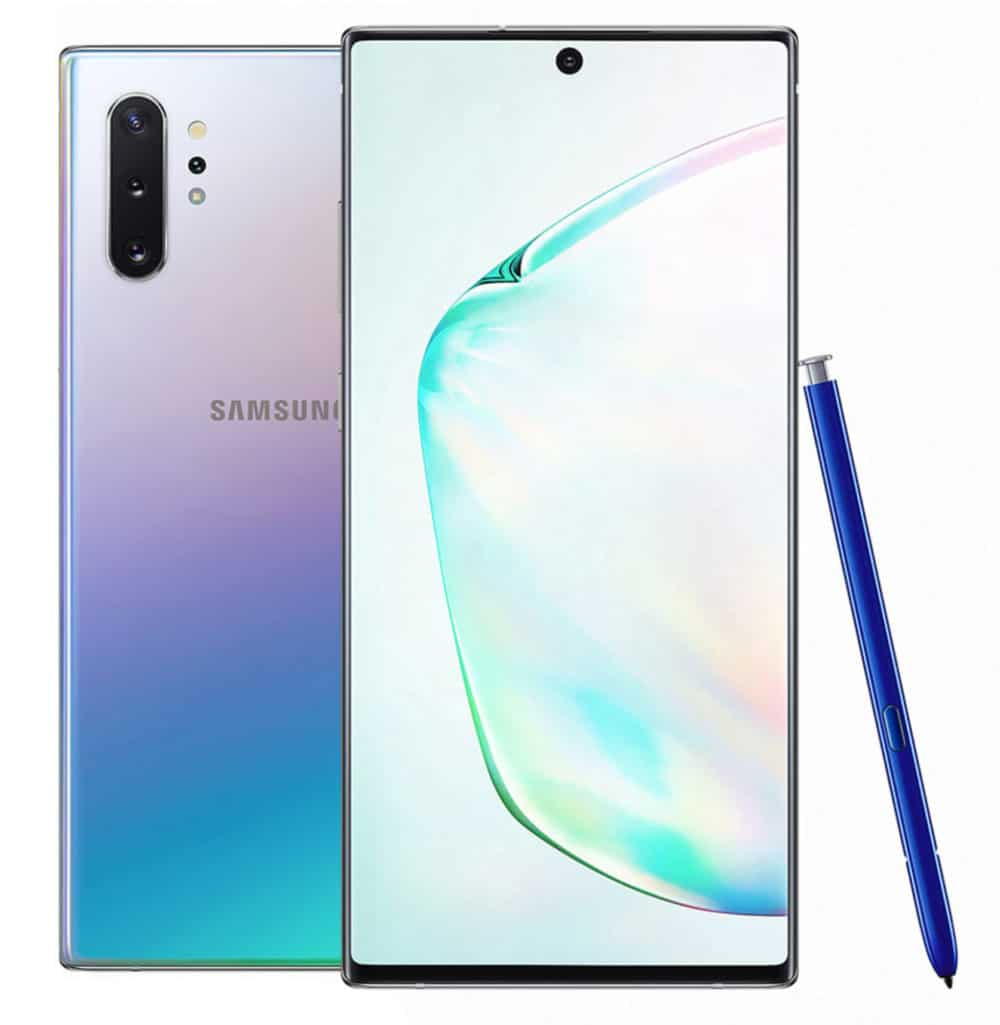 Samsung Galaxy Note 10+ стилус