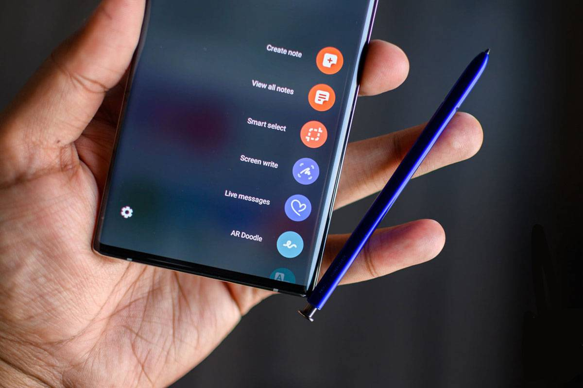 Стилус на Samsung Galaxy Note 10 plus